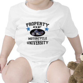 Property Of Motorcycle University Tee Shirts