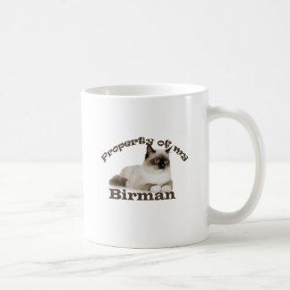 Property of My Birman Coffee Mug