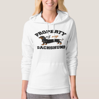 Property of My Dachshund Hoodie