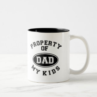 Property Of My Kids Father's Day Mug