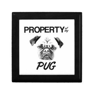 Property of my Pug Gift Box