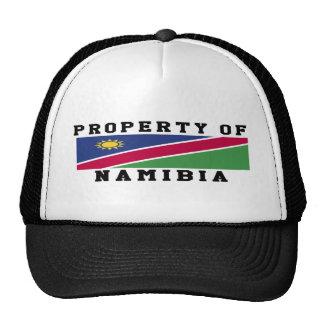 Property Of Namibia Mesh Hats