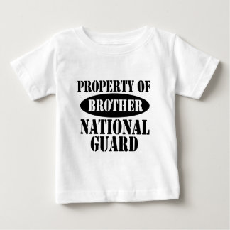 Property of National Guard Brother T-shirts
