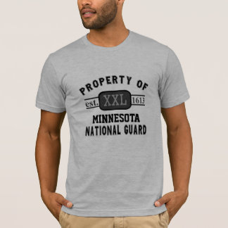 Property of National Guard Custom State Military T-Shirt