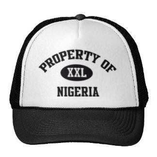 Property of Nigerian Hat