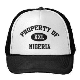 Property of Nigerian Hat