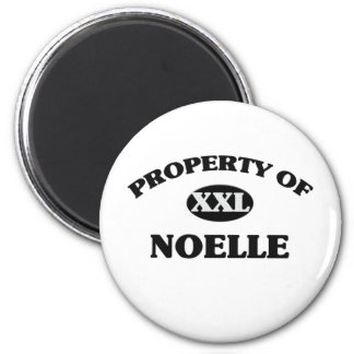 Property of NOELLE 6 Cm Round Magnet