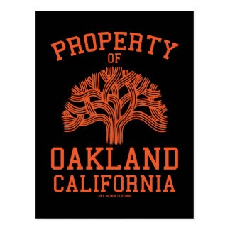 Property of Oakland Postcard