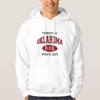 PROPERTY OF OKLAHOMA ATHLETIC DEPT. HOODIE