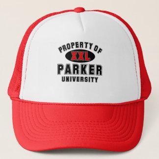 Property of Parker University Trucker Hat