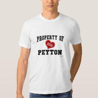 Property of Peyton T-shirts