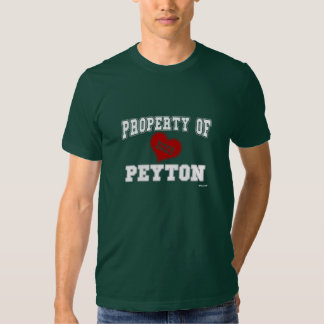 Property of Peyton Tshirts