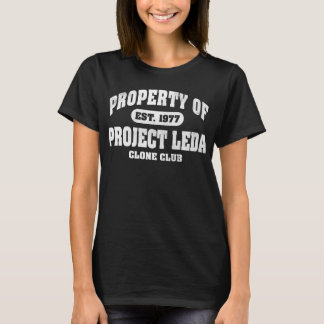 Property of Project Leda (White) T-Shirt