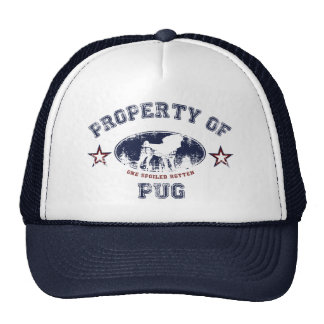 Property Of Pug Cap
