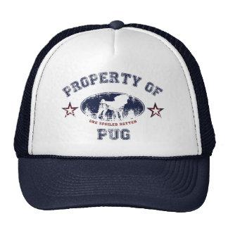 Property Of Pug Cap