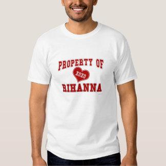 Property of Rihanna Tshirt