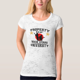Property Of Rock Stars University T-Shirt