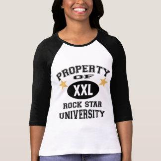 Property Of Rock Stars University Tee Shirt
