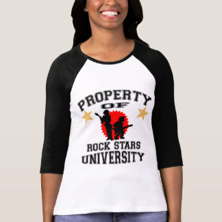 Property Of Rock Stars University Tees