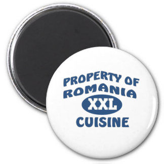 Property of Romania XXL Cuisine Magnet