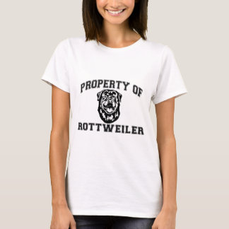 Property of Rottweiler T-Shirt