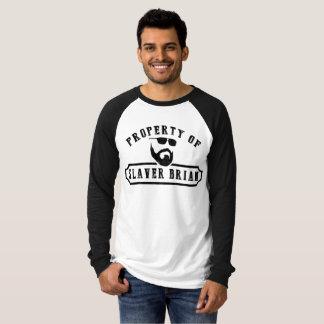 Property of Slaver Brian (Long Sleeve) T-Shirt