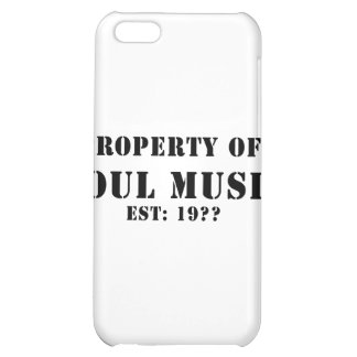Property of Soul Music iPhone 5C Case