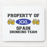 Property of Spain Drinking Team Mouse Mats