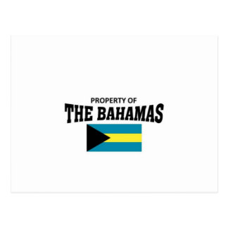 Property of The Bahamas Postcard