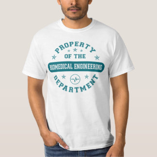 Property of the Biomedical Engineering Department T-Shirt