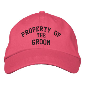 Property of the Bride - Embroidered Wedding Hats Embroidered Hat