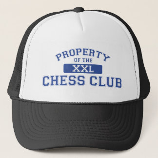 Property Of The Chess Club XXL Trucker Hat