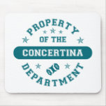 Property of the Concertina Department Mouse Mats