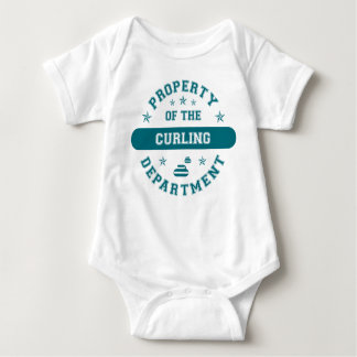 Property of the Curling Department Baby Bodysuit