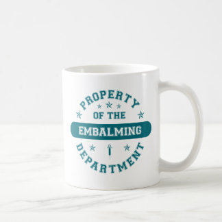 Property of the Embalming Department Coffee Mug