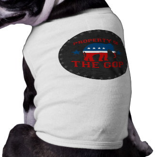 PROPERTY OF THE GOP DOG T-SHIRT