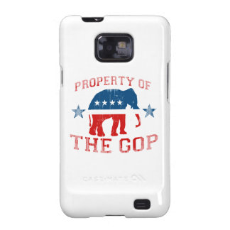 PROPERTY OF THE GOP Faded.png Samsung Galaxy SII Cases