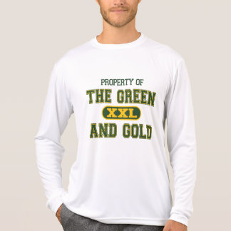 Property of The Green and Gold1 Tshirts