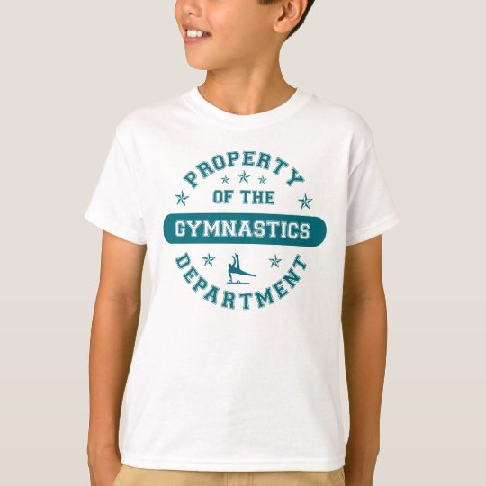 Property of the Gymnastics Department T-Shirt