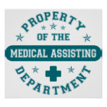 Property of the Medical Assisting Department Posters