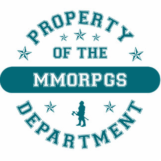 Property of the MMORPGs Department Cut Outs