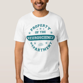 Property of the Neuroscience Department Tshirt