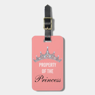 Property of the Princess Tiara Luggage Tag