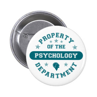 Property of the Psychology Department 6 Cm Round Badge