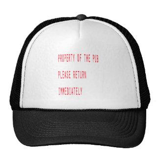 Property of the pub hat