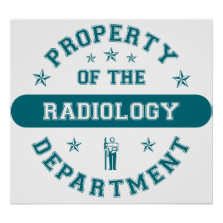 Property of the Radiology Department Poster