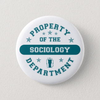 Property of the Sociology Department 6 Cm Round Badge