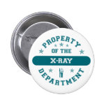 Property of the X-Ray Department Button