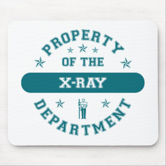 Property of the X-Ray Department Mouse Pad