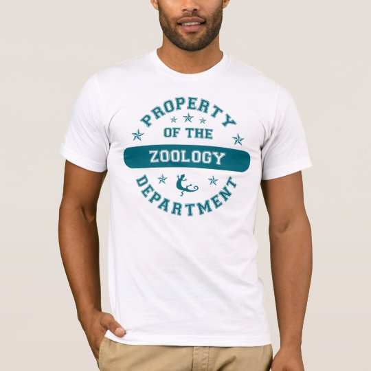 Property of the Zoology Department T-Shirt